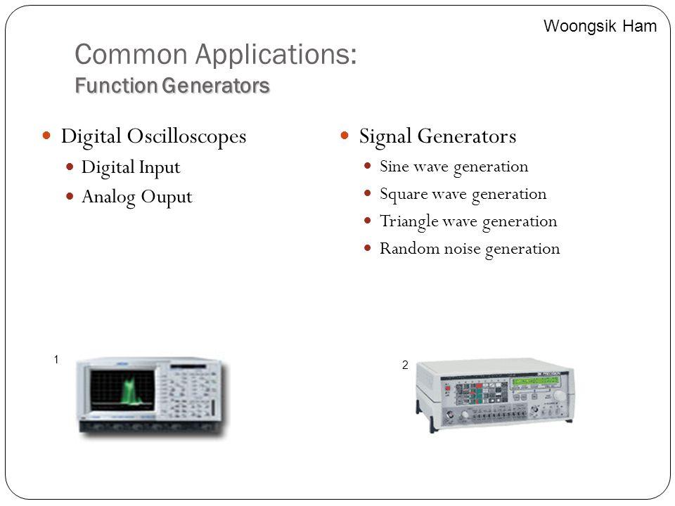 Common Applications: Function Generators