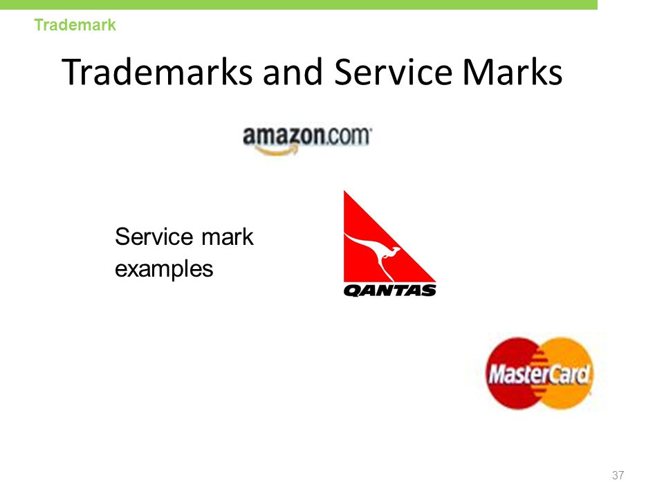 Trademarks and Service Marks