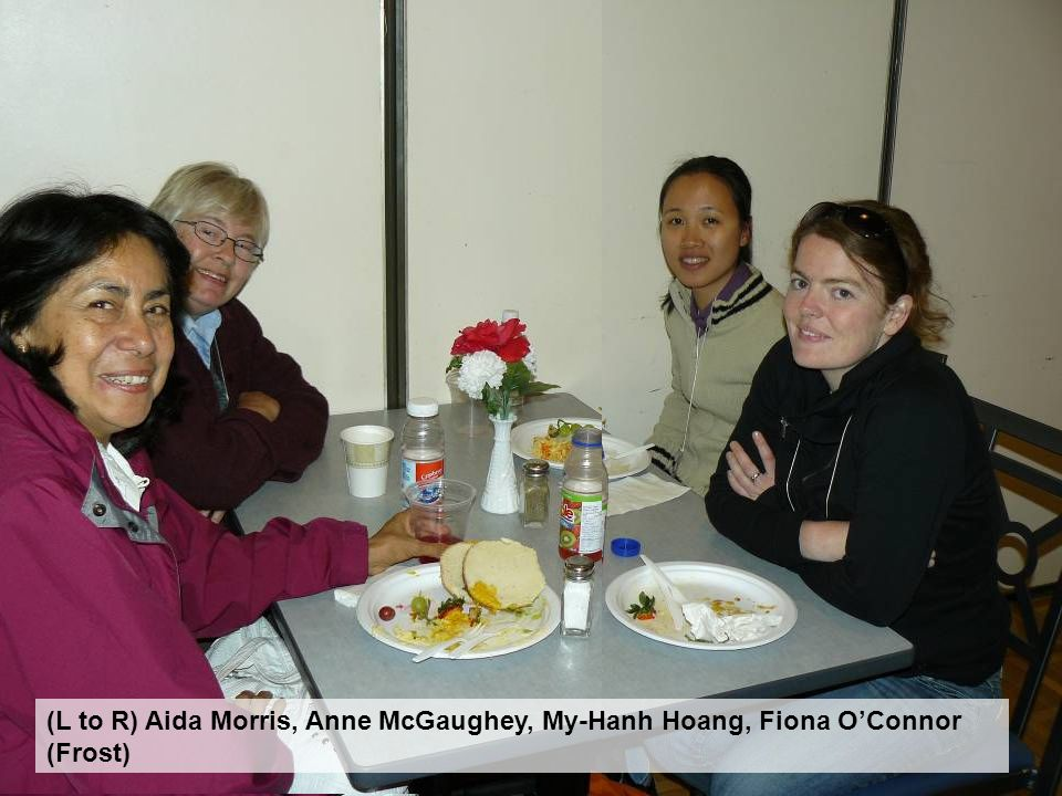 (L to R) Aida Morris, Anne McGaughey, My-Hanh Hoang, Fiona O'Connor (Frost)