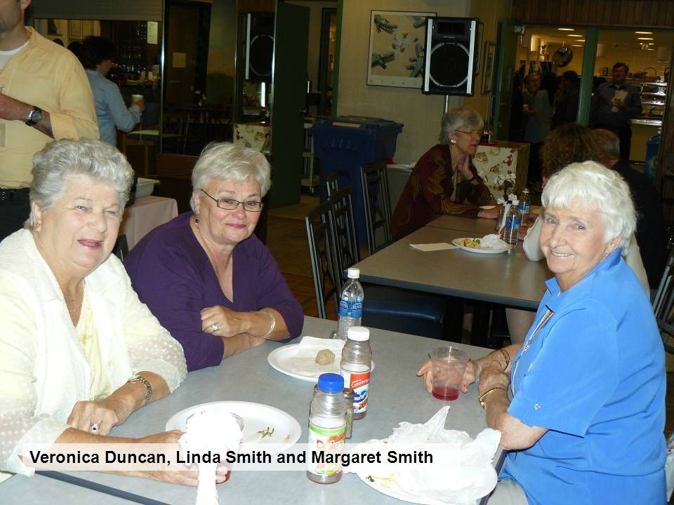 Veronica Duncan, Linda Smith and Margaret Smith