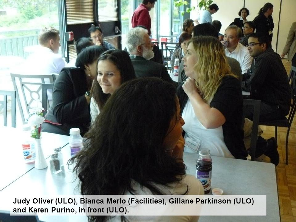Judy Oliver (ULO), Bianca Merlo (Facilities), Gillane Parkinson (ULO) and Karen Purino, in front (ULO).