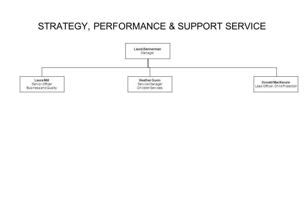 STRATEGY, PERFORMANCE & SUPPORT SERVICE