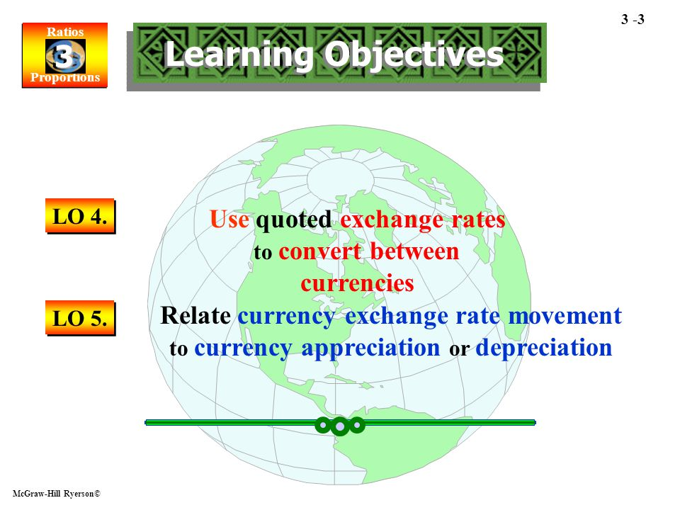 Use quoted exchange rates to convert between currencies