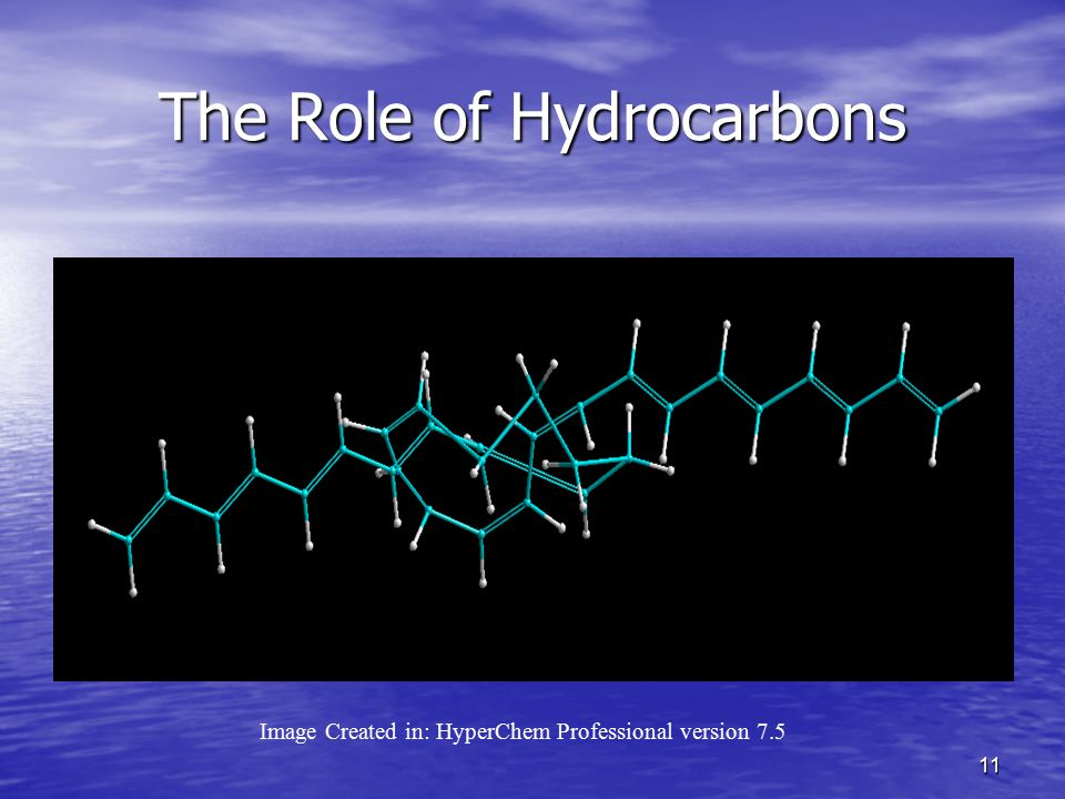 The Role of Hydrocarbons