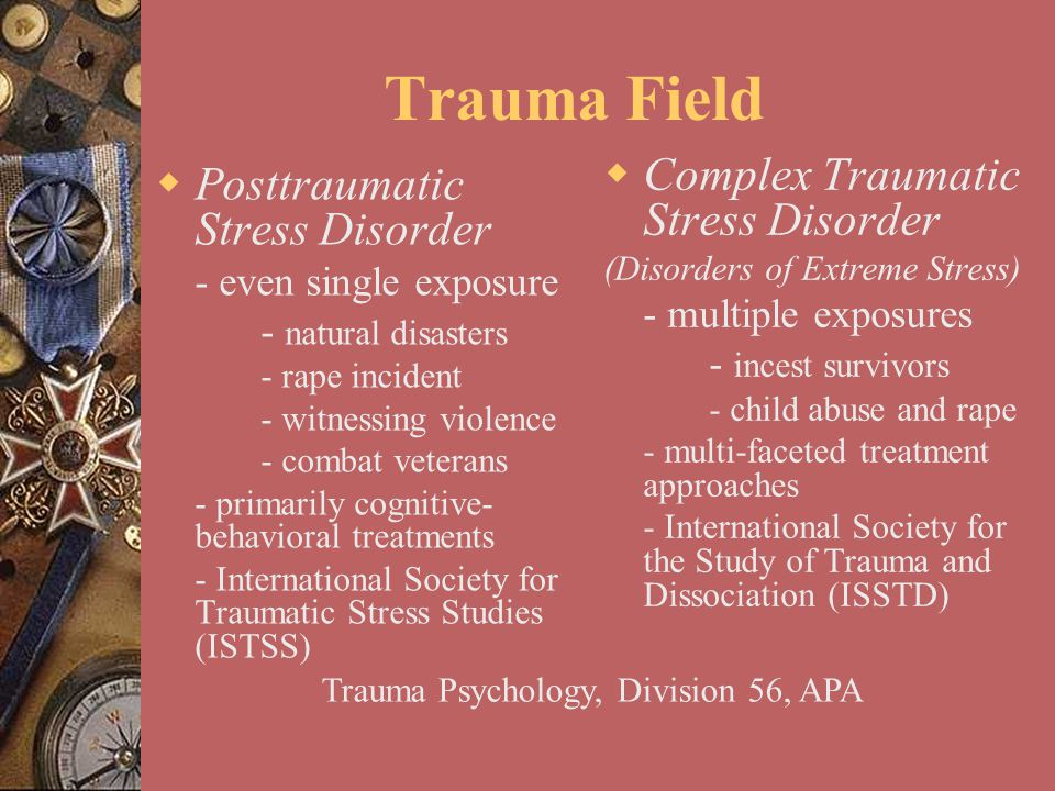 Trauma Psychology, Division 56, APA