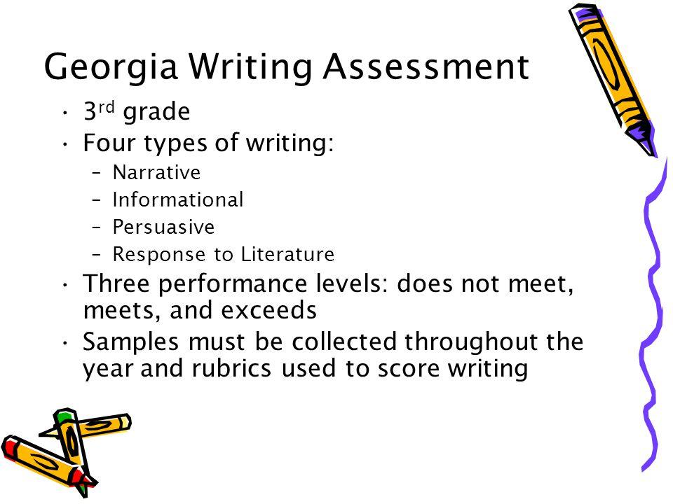 Georgia Writing Assessment