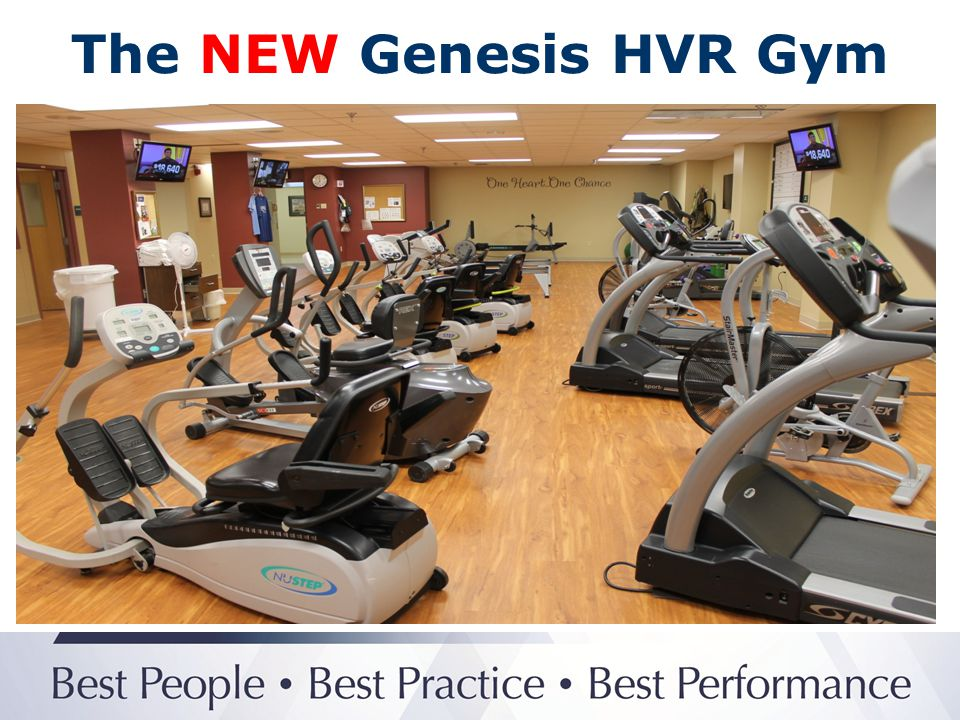 The NEW Genesis HVR Gym