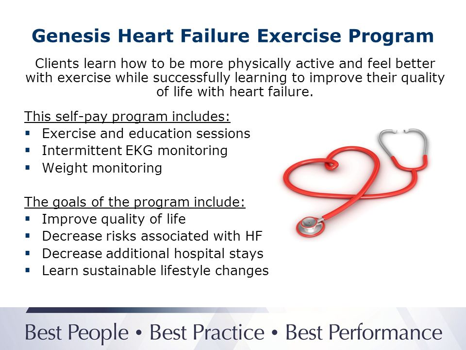 Genesis Heart Failure Exercise Program