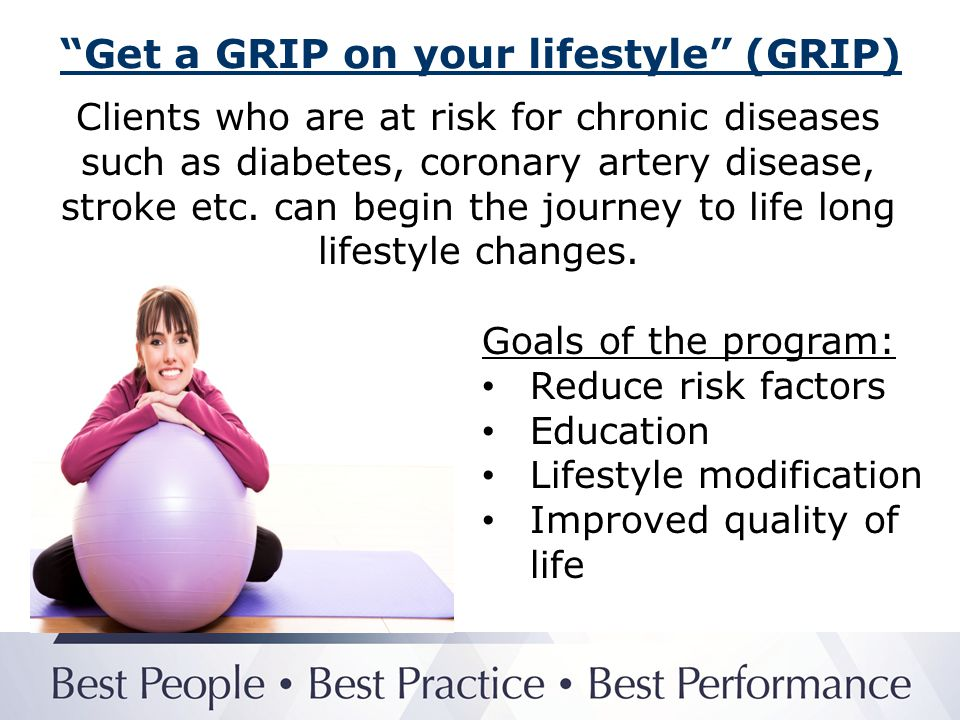 Get a GRIP on your lifestyle (GRIP)