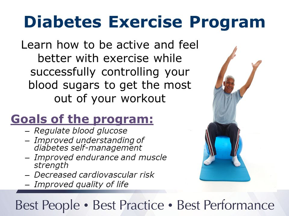 Diabetes Exercise Program