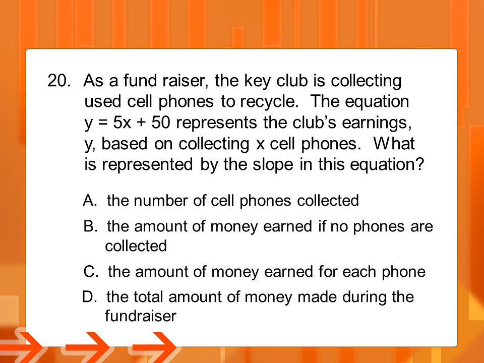 As a fund raiser, the key club is collecting