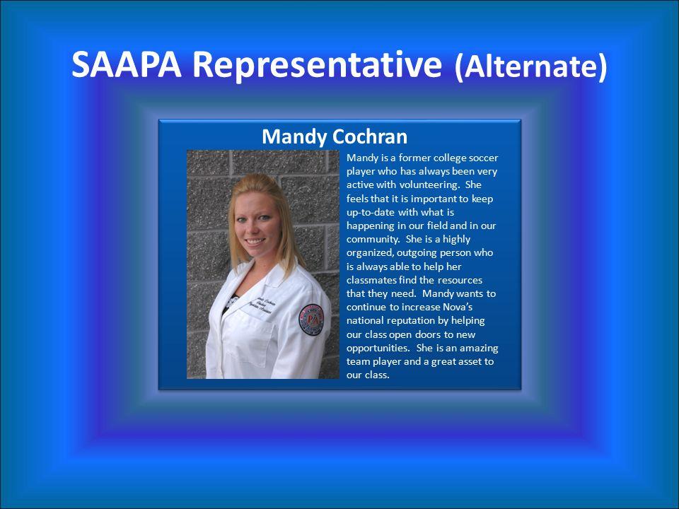 SAAPA Representative (Alternate)