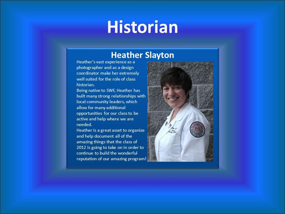 Historian Heather Slayton