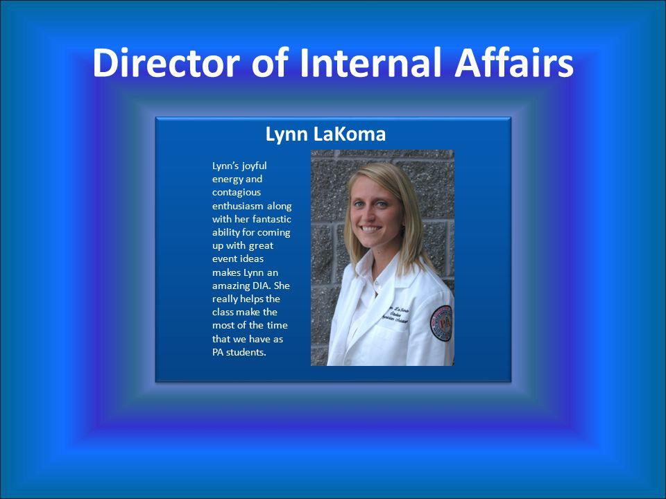 Director of Internal Affairs