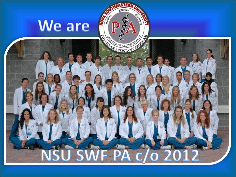 We are NSU SWF PA c/o 2012