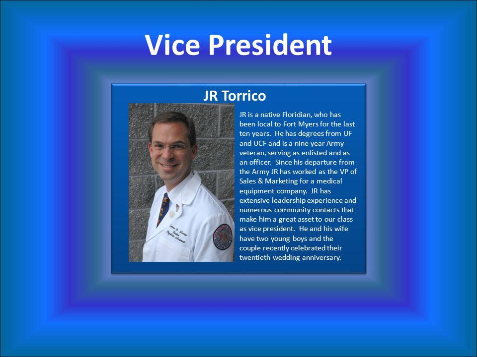 Vice President JR Torrico
