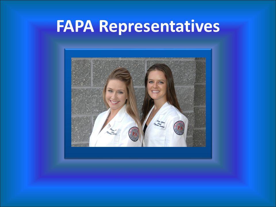 FAPA Representatives