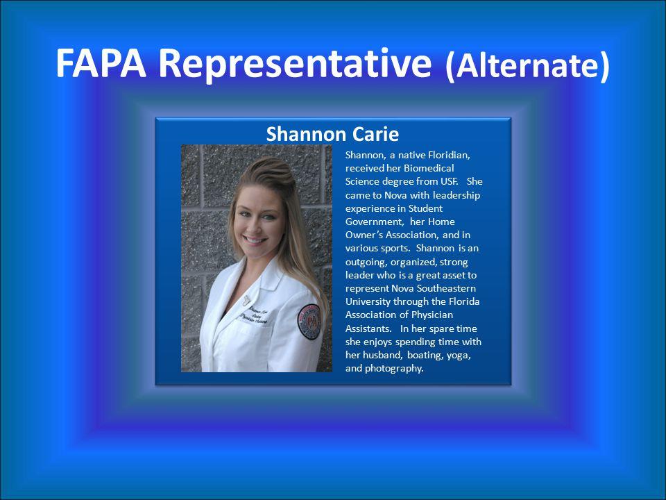 FAPA Representative (Alternate)
