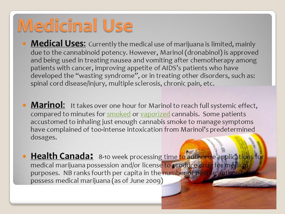 Medicinal Use