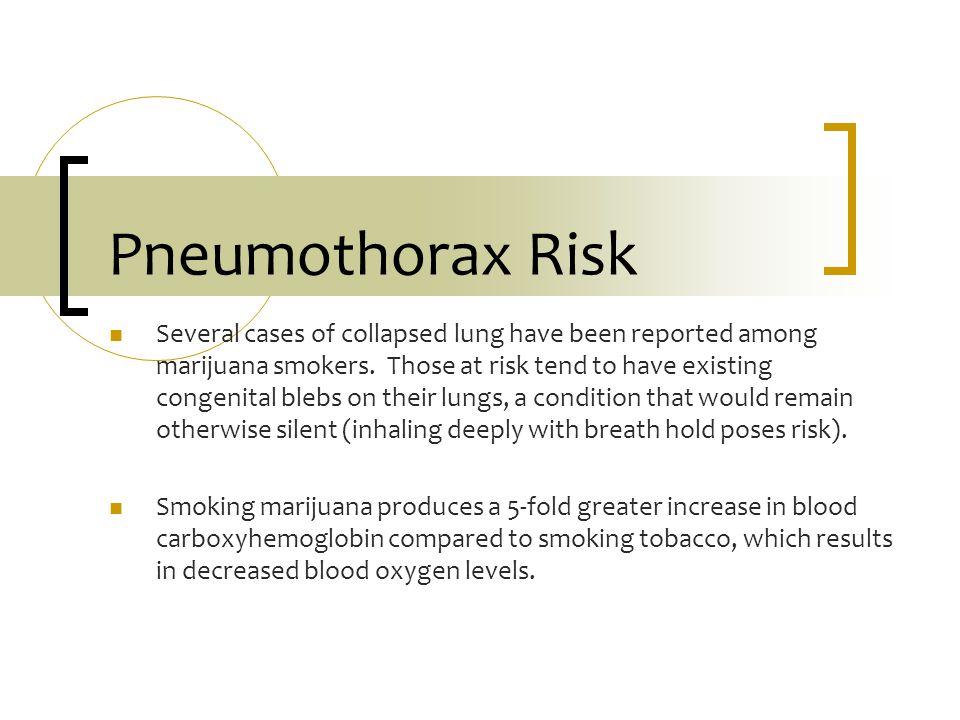 Pneumothorax Risk