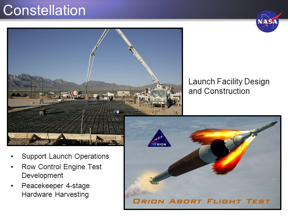 Constellation Launch Facility Design and Construction