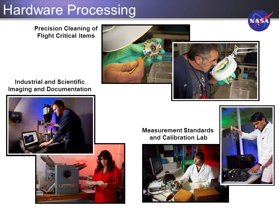 Hardware Processing Precision Cleaning of Flight Critical Items