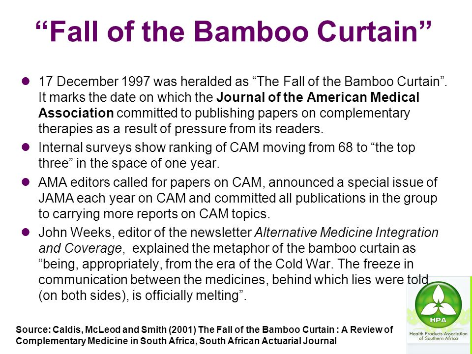 Fall of the Bamboo Curtain