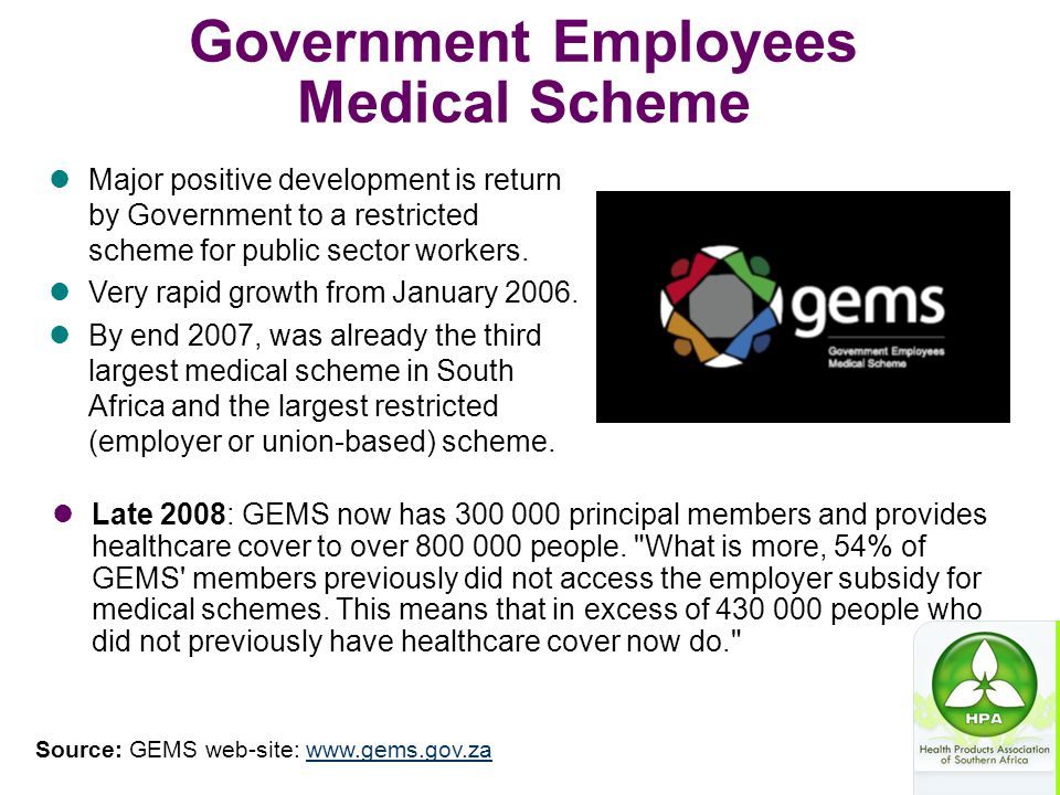 Government Employees Medical Scheme