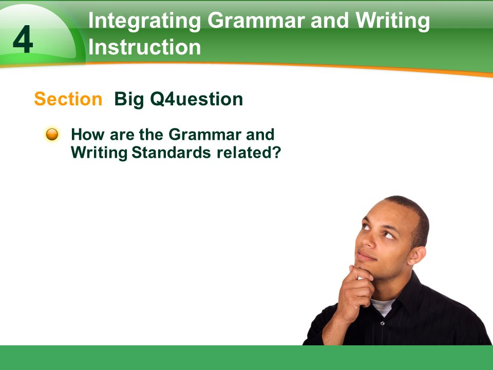 Integrating Grammar and Writing Instruction