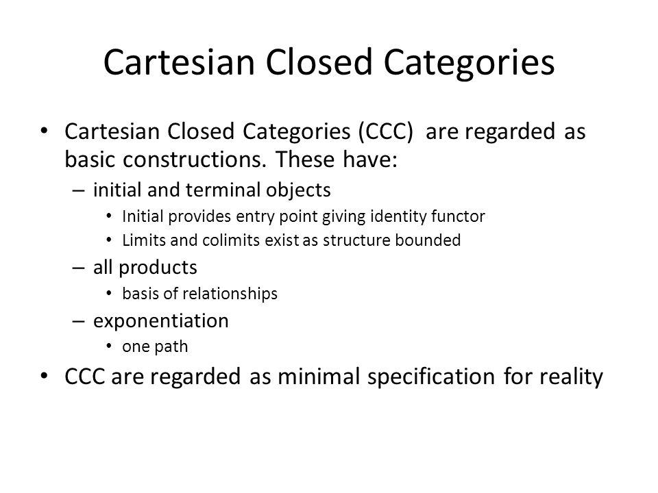 Cartesian Closed Categories