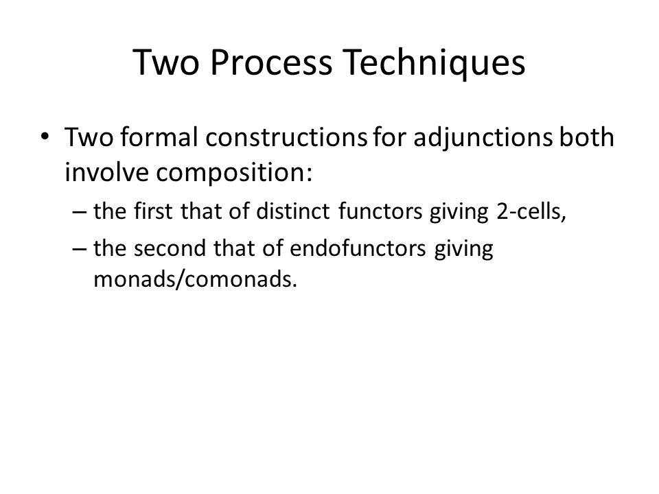 Two Process Techniques