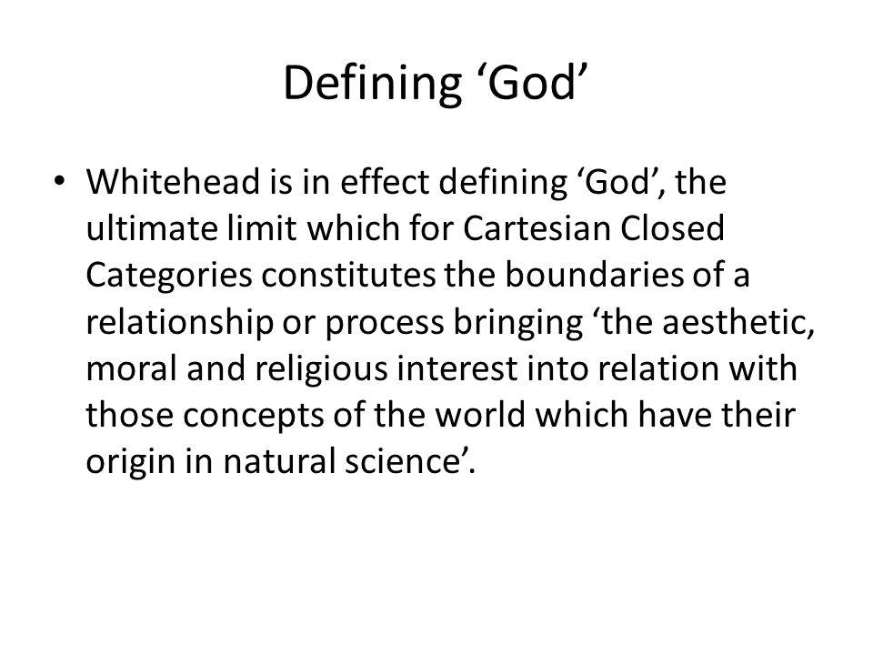 Defining 'God'