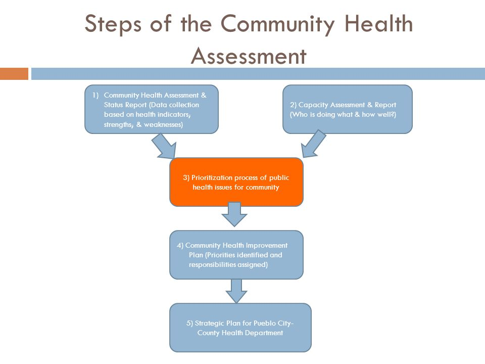 Steps of the Community Health Assessment
