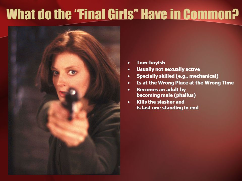 What do the Final Girls Have in Common