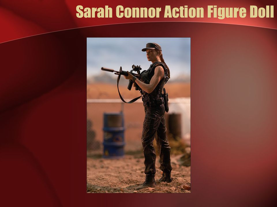 Sarah Connor Action Figure Doll