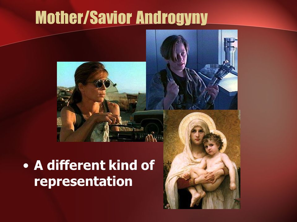 Mother/Savior Androgyny