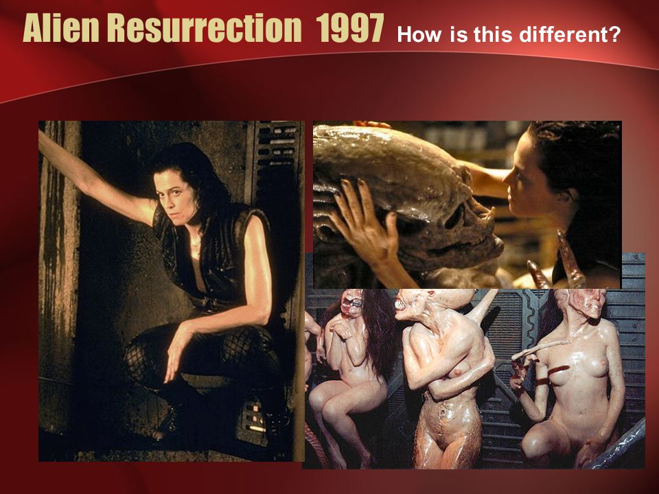 Alien Resurrection 1997 How is this different