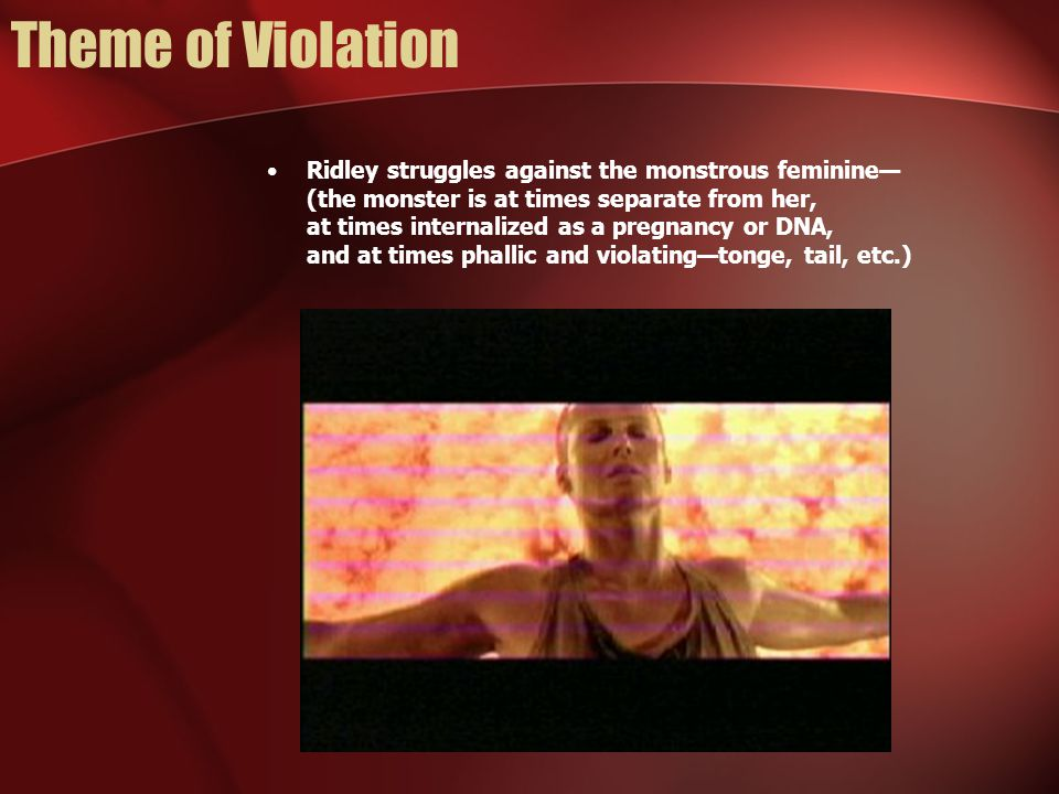Theme of Violation