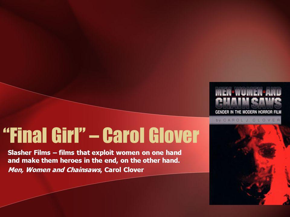 Final Girl – Carol Glover