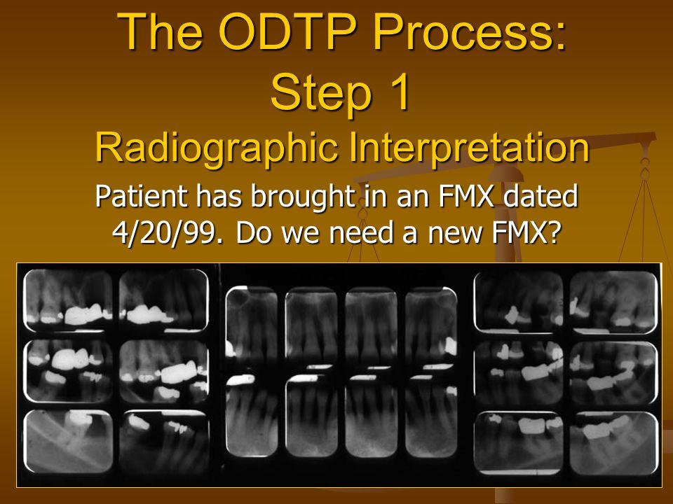 The ODTP Process: Step 1 Radiographic Interpretation