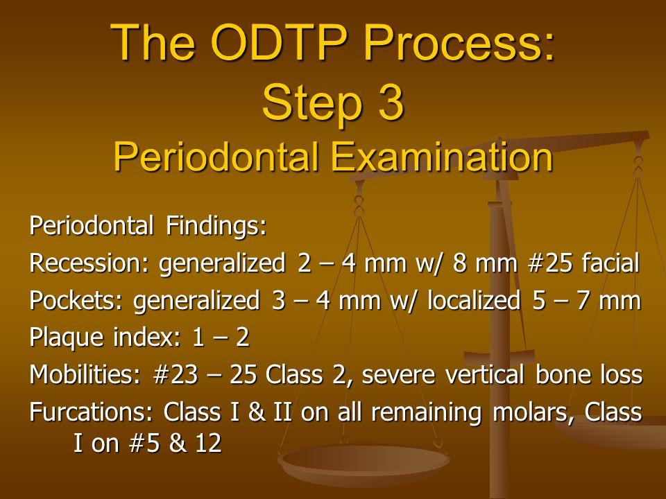 The ODTP Process: Step 3 Periodontal Examination