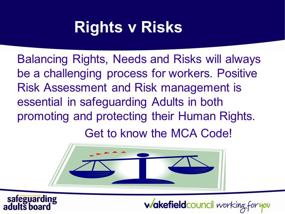 Rights v Risks