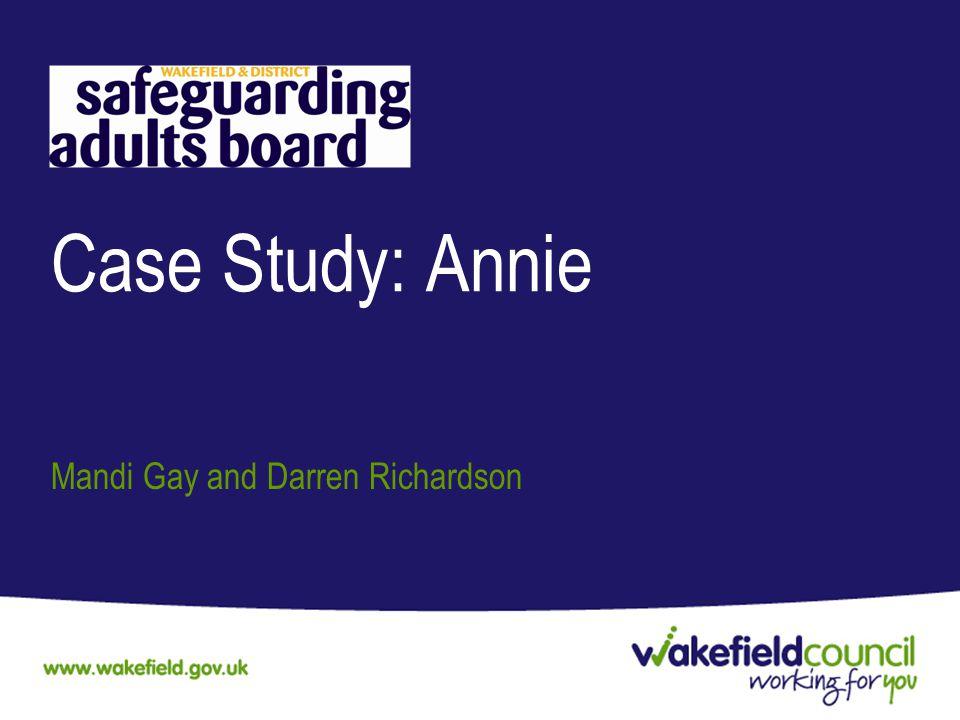 Case Study: Annie Mandi Gay and Darren Richardson