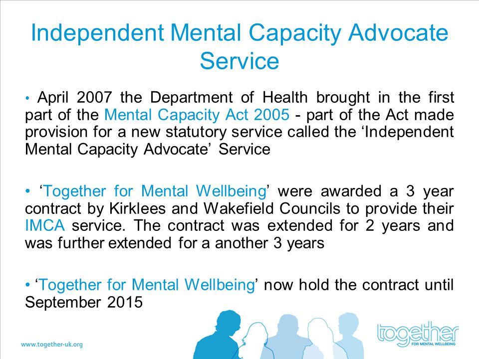 Independent Mental Capacity Advocate Service