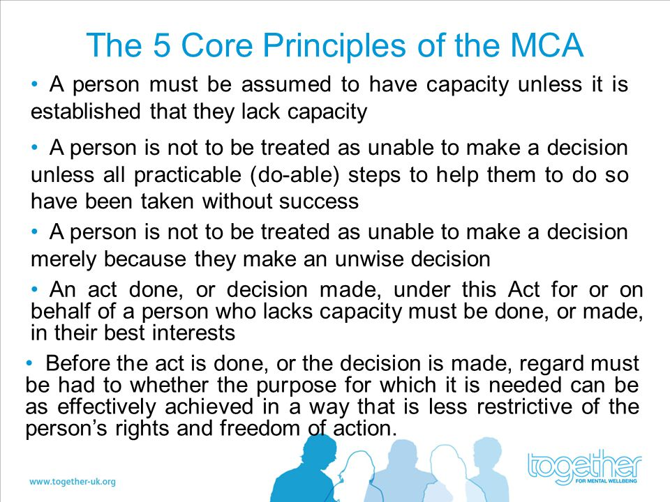 The 5 Core Principles of the MCA