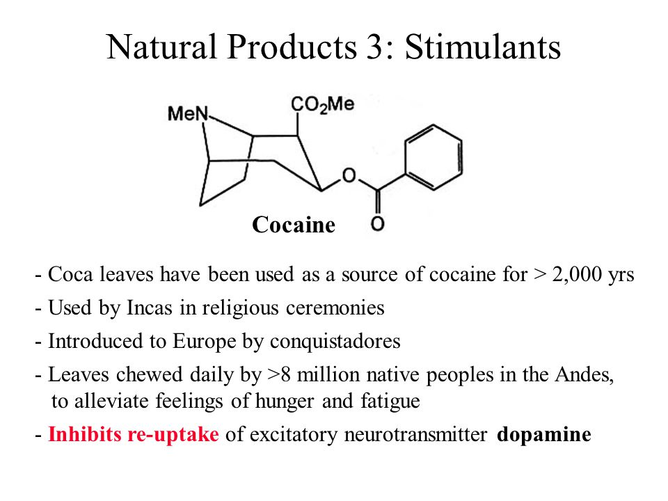 Natural Products 3: Stimulants