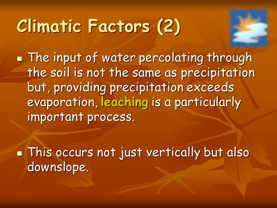 Climatic Factors (2)