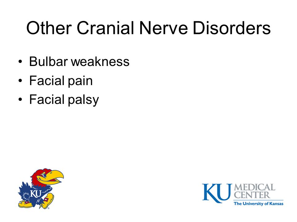 Other Cranial Nerve Disorders