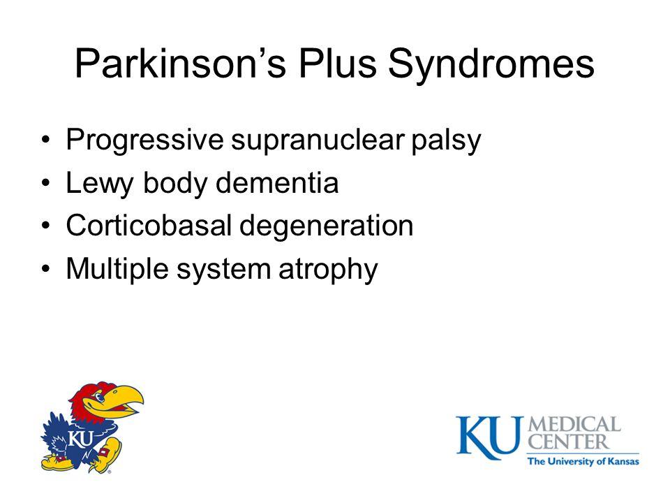 Parkinson's Plus Syndromes