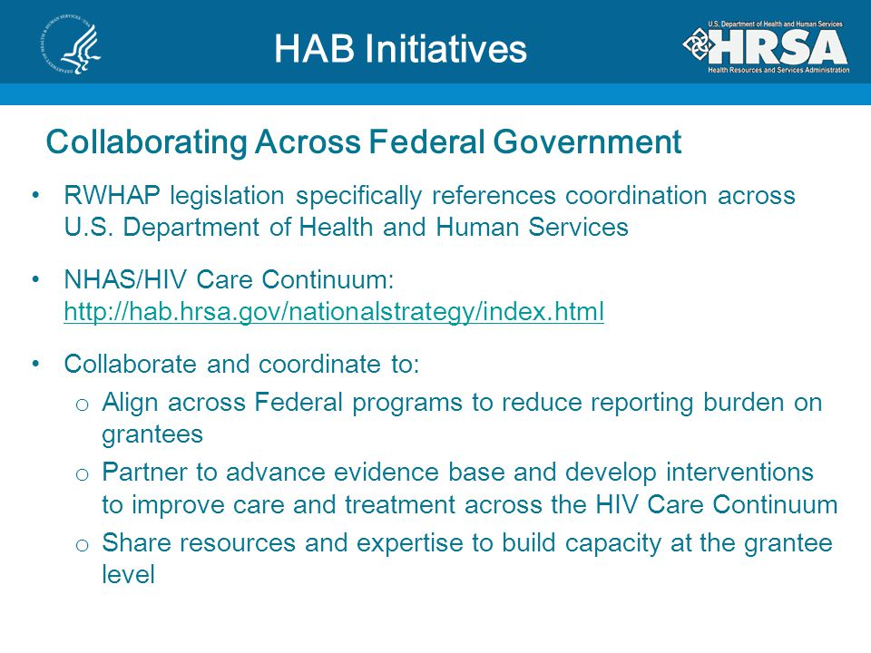 HAB Initiatives Collaborating Across Federal Government